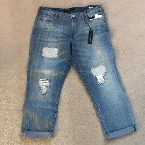 NWT W118 Walter Baker distressed denim jeans